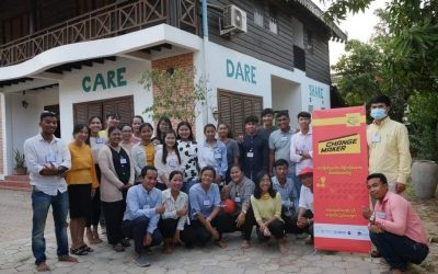 Sreykeo and Sopheap become Changemakers with Phum Impact Siem Reap