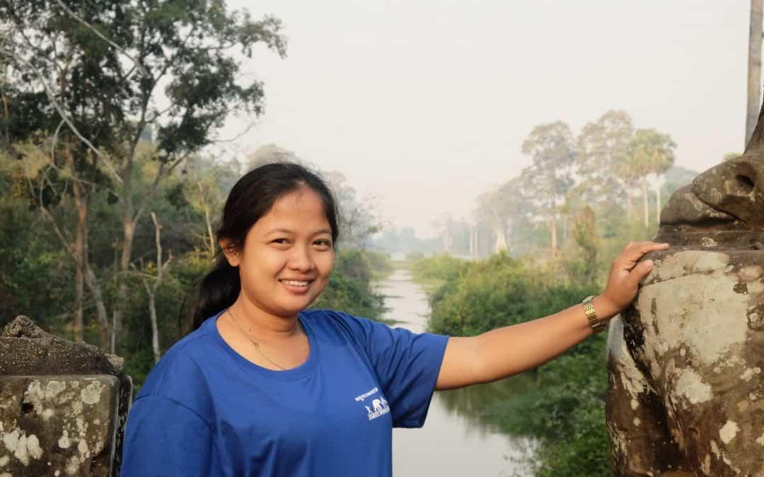 Staff corner: Somnang's 6 months Reflection at JWOC
